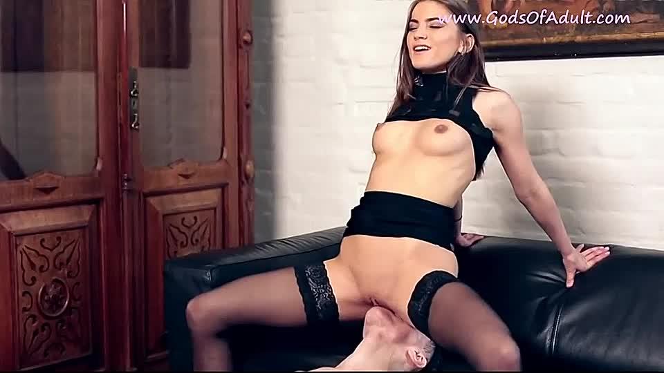 Muschi Arsch lecken Sklave